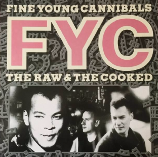 Fine Young Cannibals - The Raw & The Cooked (LP) (VG/EX)